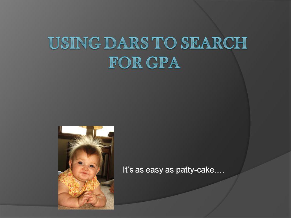 Create your GPA Program
