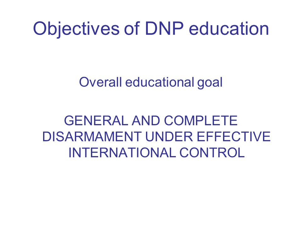 Three Lessons learned United Nations study on disarmament and non-proliferation education A/57/124 of 30 August 2002 disarmament.un.org/education