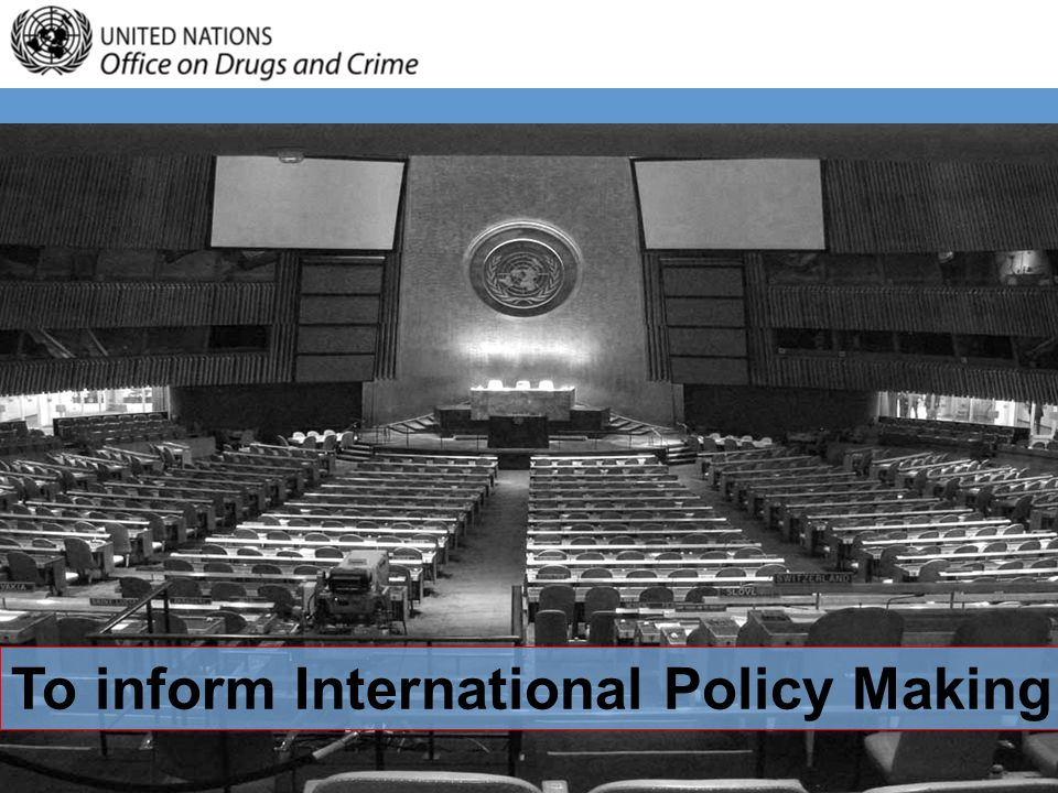 To inform International Policy Making
