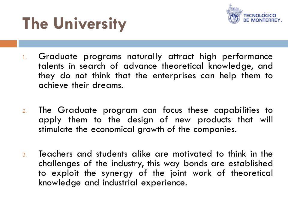 The University 1.