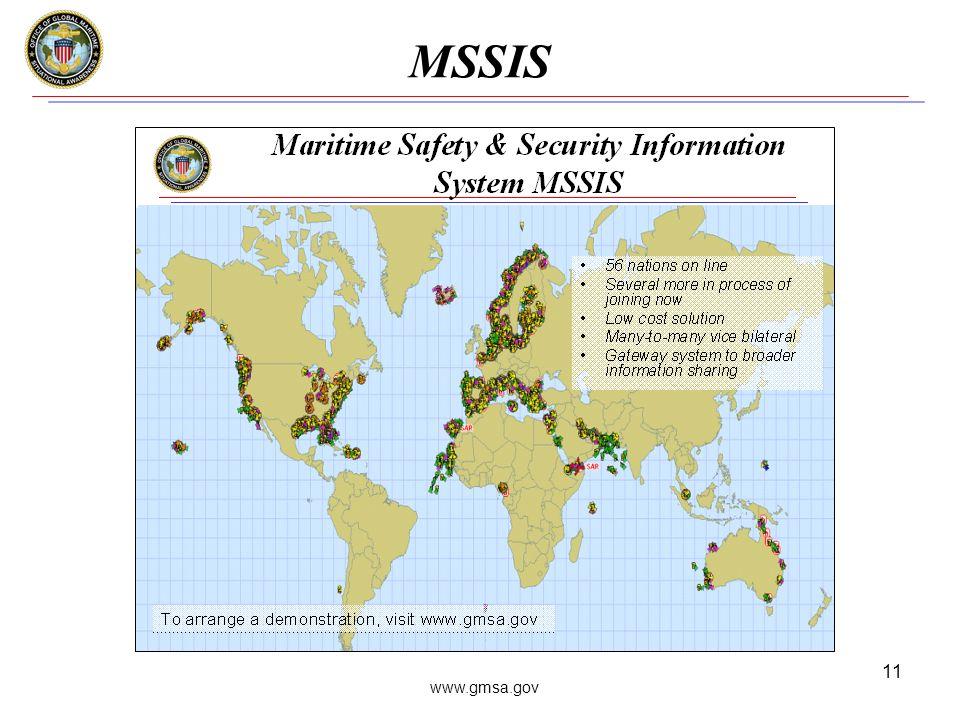 www.gmsa.gov 11 MSSIS