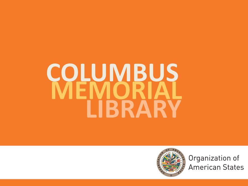 COLUMBUS MEMORIAL LIBRARY