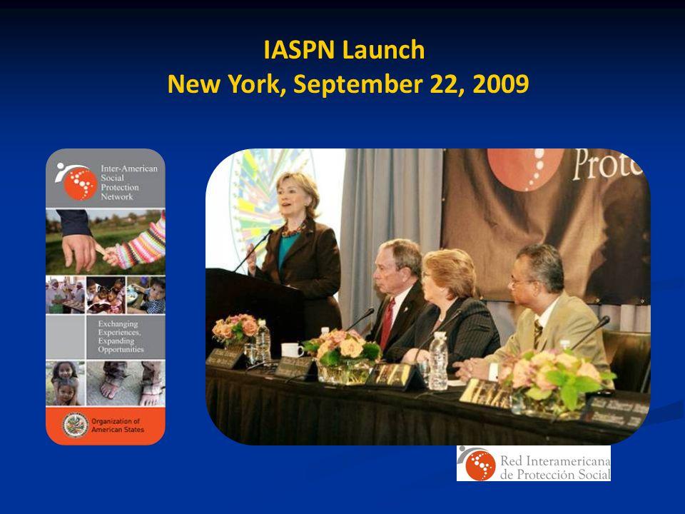 IASPN Launch New York, September 22, 2009