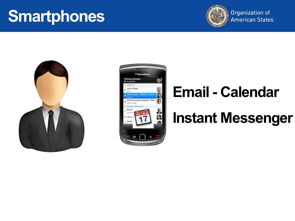 Instant Messenger Email - Calendar