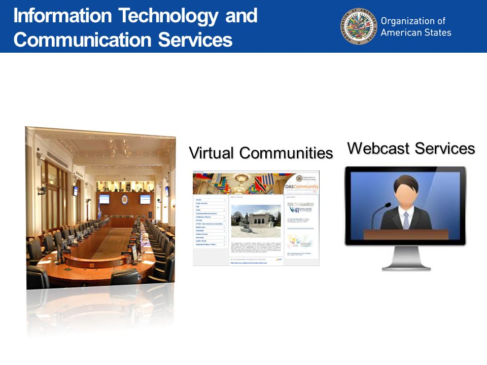 Virtual Communities Webcast Services Information Technology and Communication Services