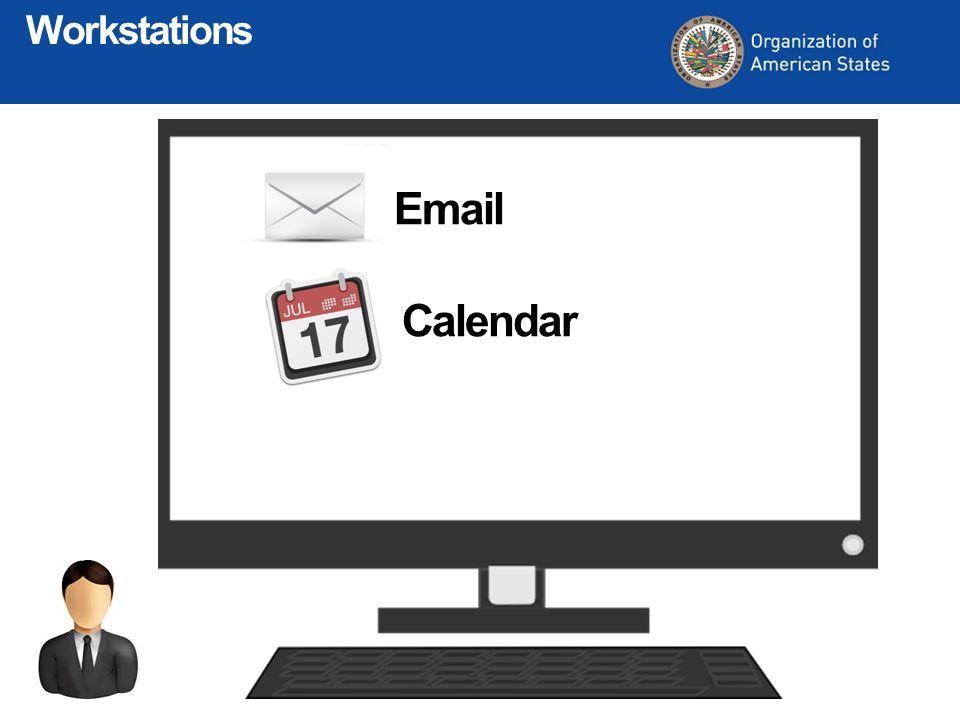 Email Calendar Workstations