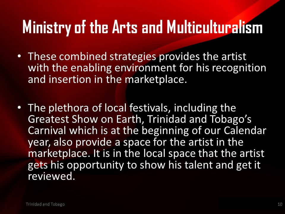 Wwwpd These combined strategies provides the artist with the enabling environment for his recognition and insertion in the marketplace.