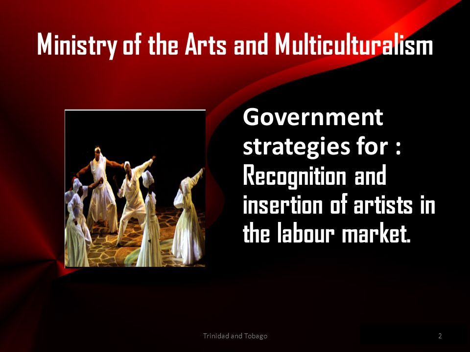 Wwwpd Government strategies for : Recognition and insertion of artists in the labour market.