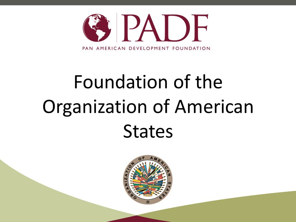 Foundation of the Organization of American States