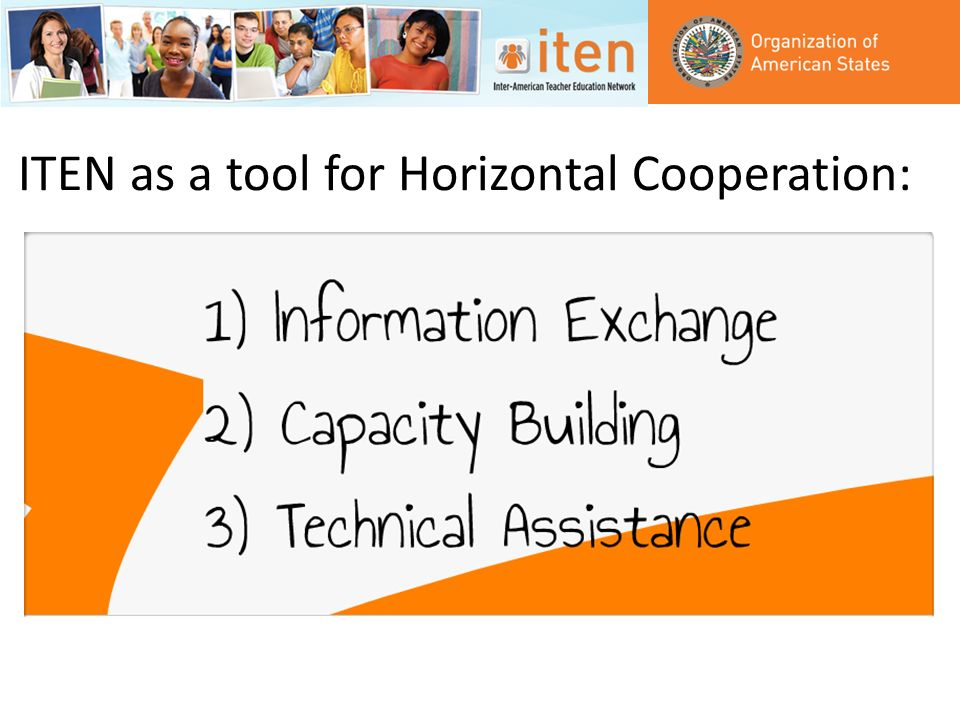 ITEN as a tool for Horizontal Cooperation: