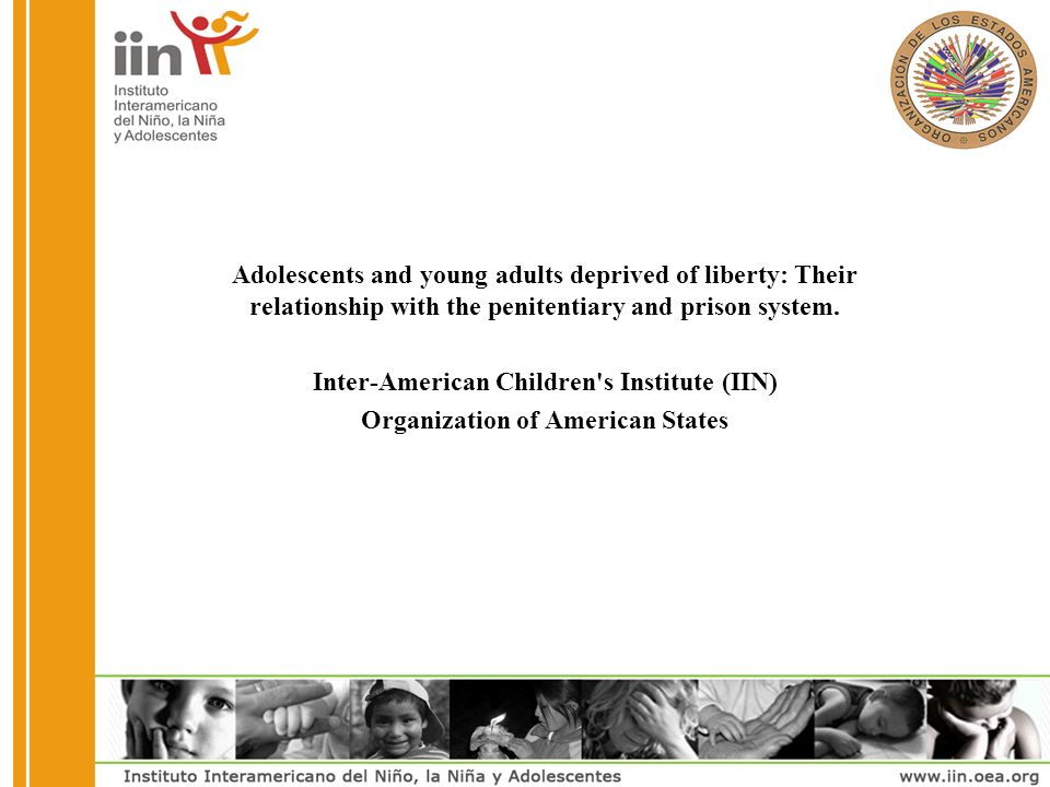 Adolescents and young adults deprived of liberty: Their relationship with the penitentiary and prison system.