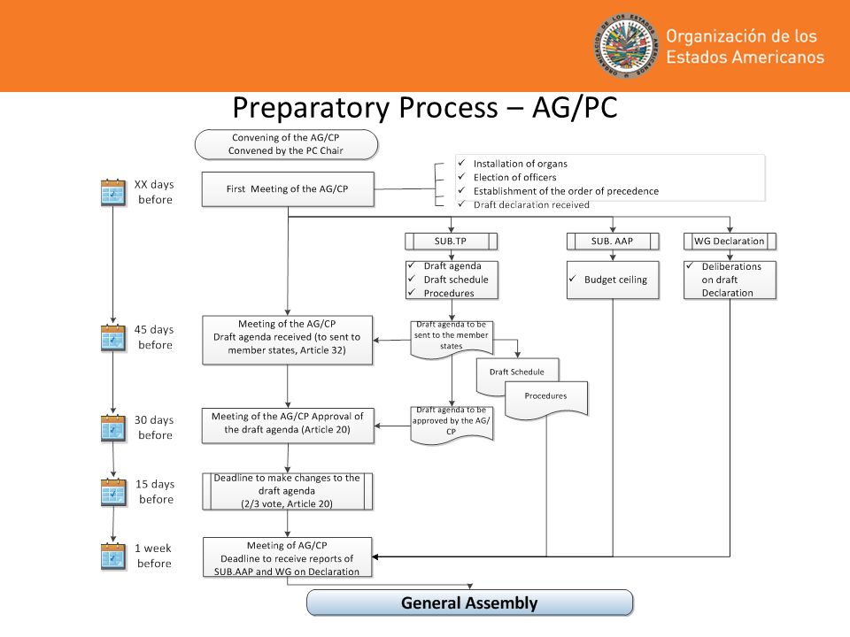 Preparatory Process Committees and Working Groups