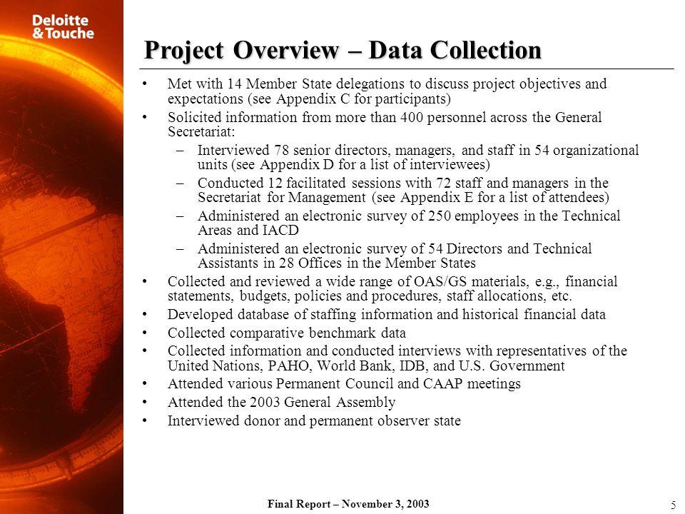 Final Report – November 3, 2003 a.
