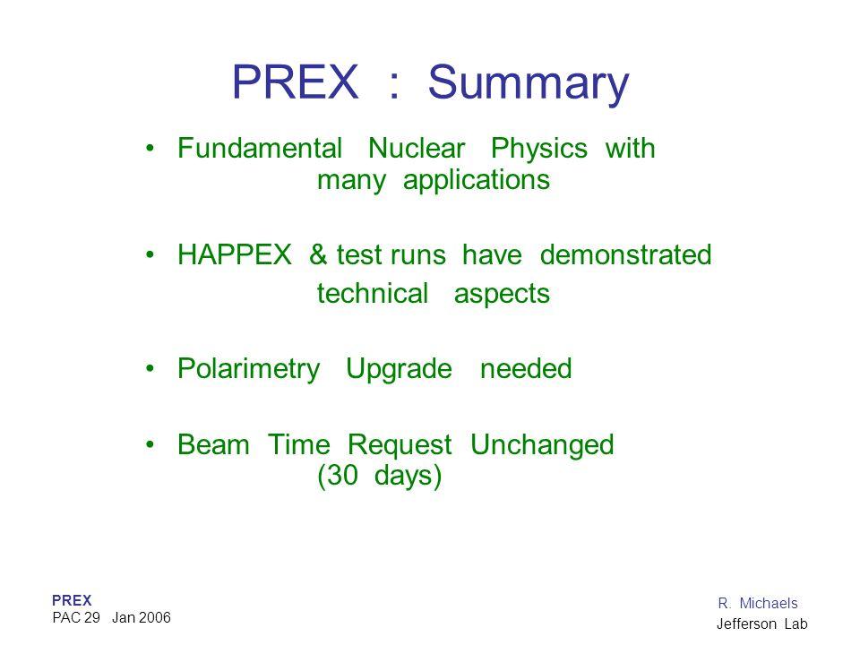PREX PAC 29 Jan 2006 R.