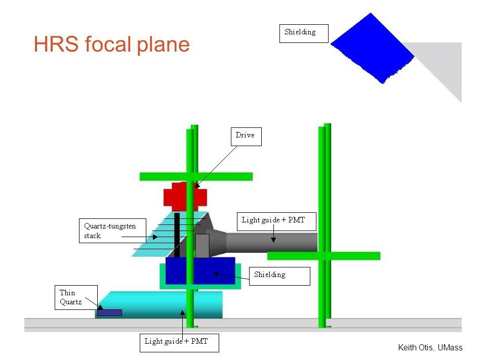 HRS focal plane Keith Otis, UMass
