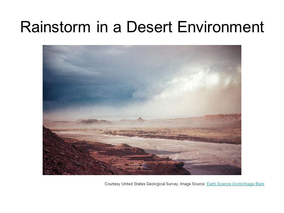 Flash Flood © Lynn Betts, NRCS, Image Source: Earth Science World Image BankEarth Science World Image Bank