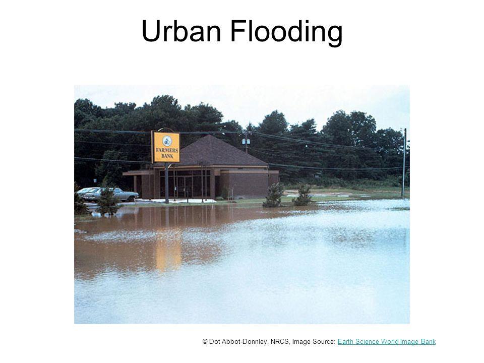 Flooded Homes © Lynn Betts, NRCS, Image Source: Earth Science World Image BankEarth Science World Image Bank