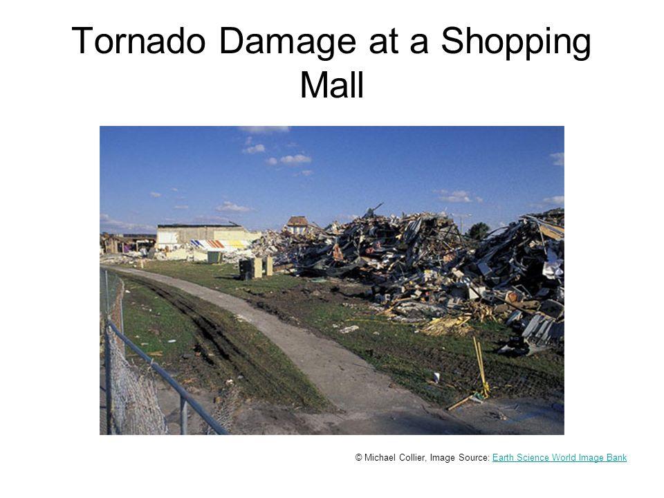 Tornado Damage at a Trailer Park © Louis Maher, Image Source: Earth Science World Image BankEarth Science World Image Bank