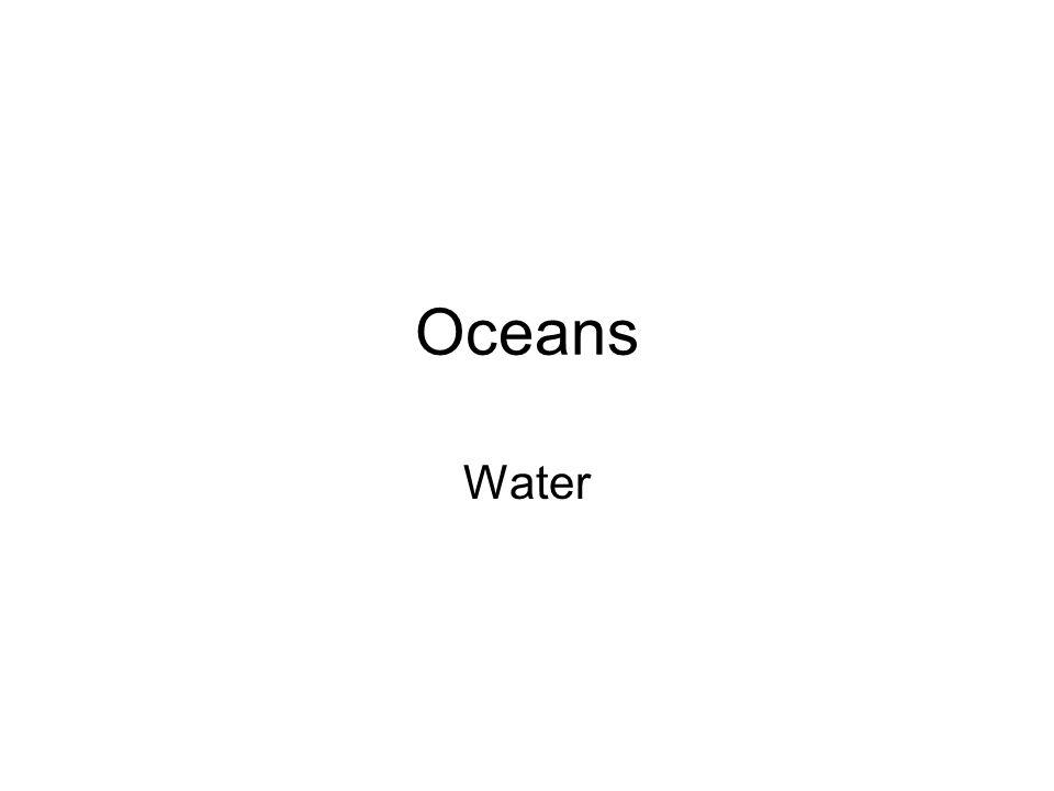 Oceans Water