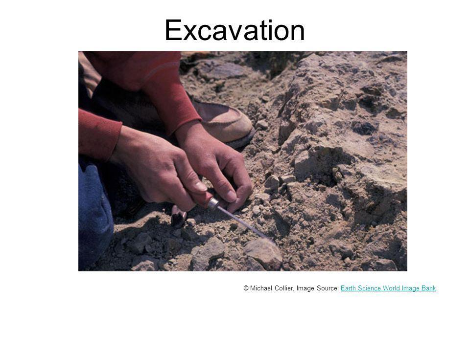 Excavation © Michael Collier, Image Source: Earth Science World Image BankEarth Science World Image Bank