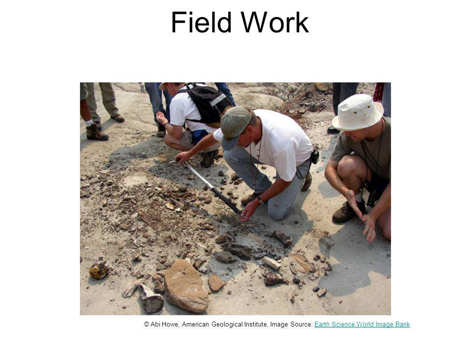 Field Work © Abi Howe, American Geological Institute, Image Source: Earth Science World Image BankEarth Science World Image Bank