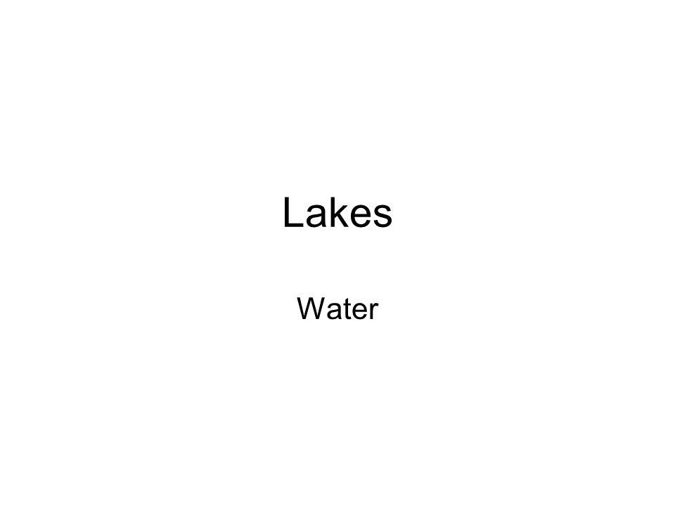 Lakes Water