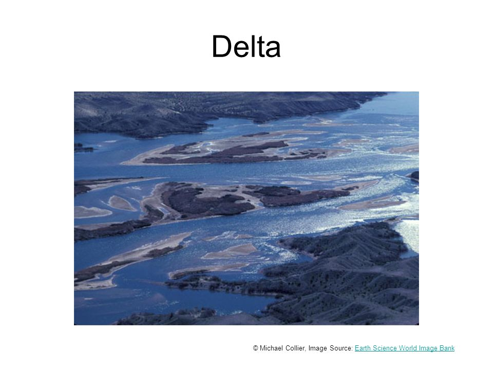 Delta © Michael Collier, Image Source: Earth Science World Image BankEarth Science World Image Bank