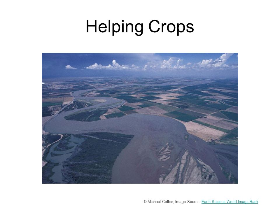 Helping Crops © Michael Collier, Image Source: Earth Science World Image BankEarth Science World Image Bank