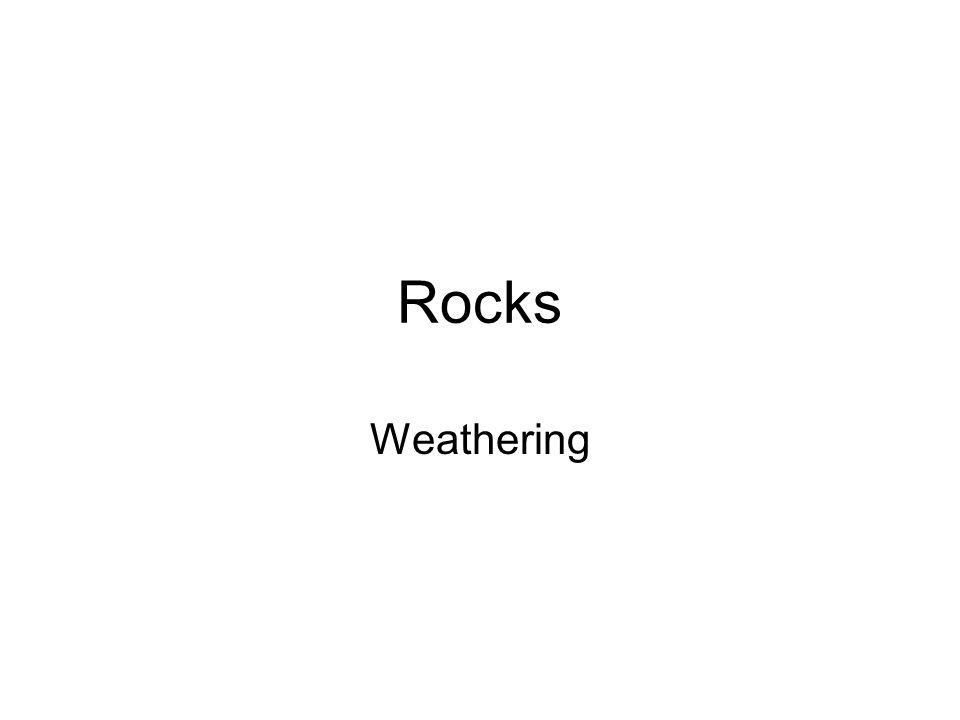 Rocks Weathering