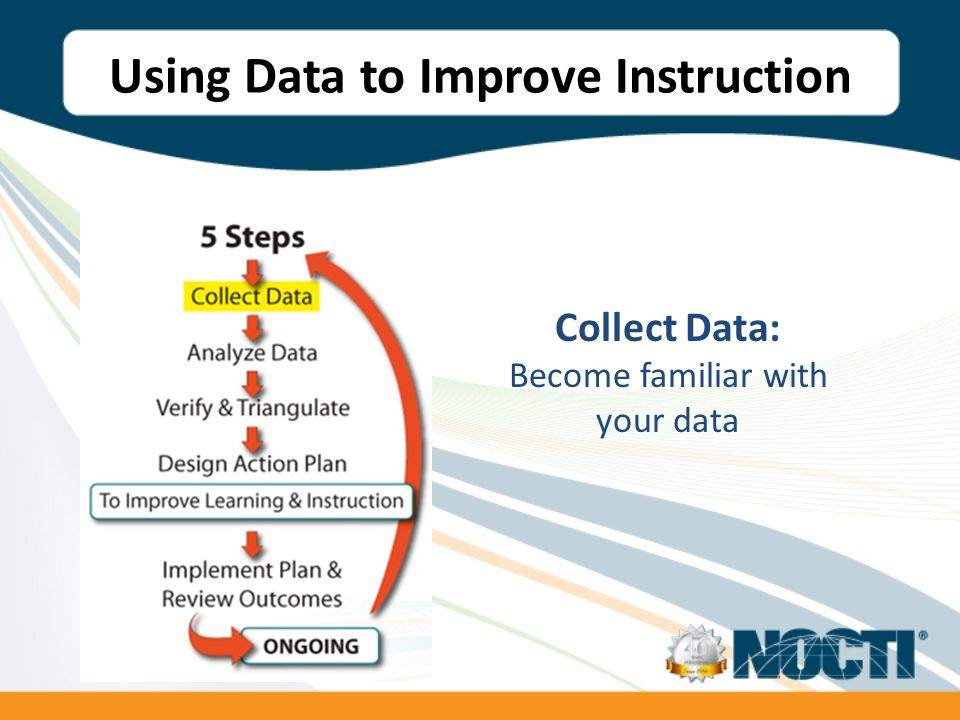 Collect Data: Become familiar with your data