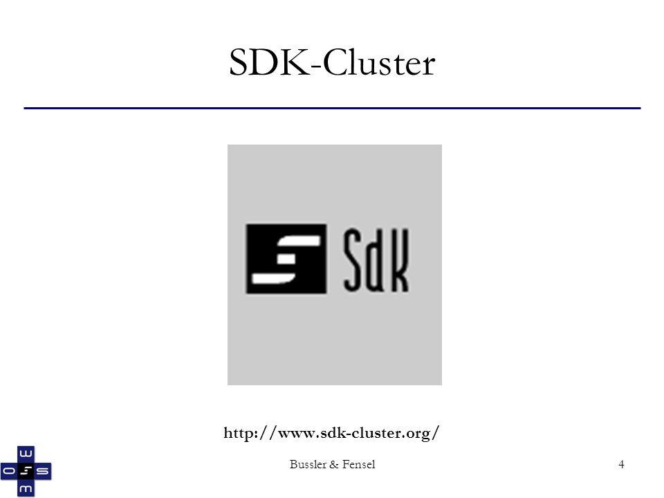 Bussler & Fensel4 SDK-Cluster http://www.sdk-cluster.org/