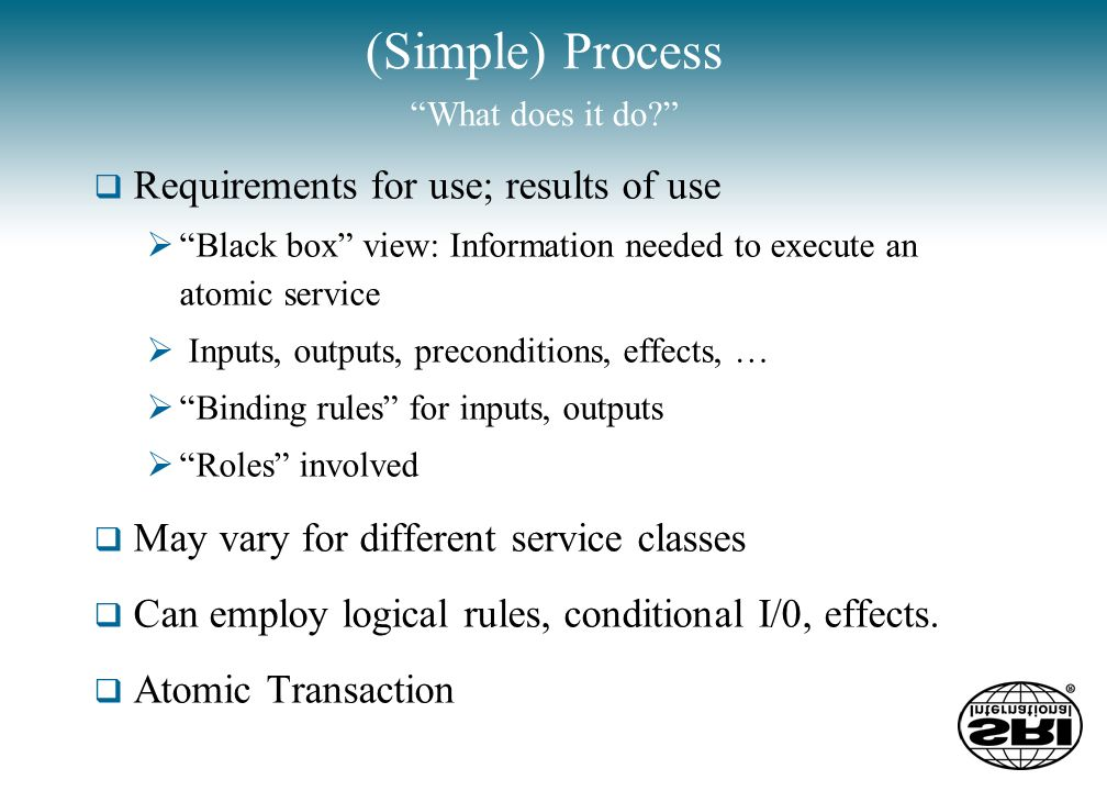 Service Model How does it work.