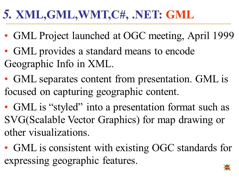 Recommended by W3C in 1998, XML (eXtensible Markup Language) emerges as the second generation Web language for data interchange on the Web.