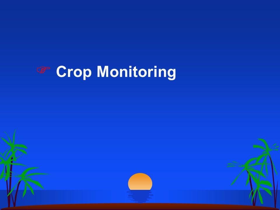 Crop Monitoring