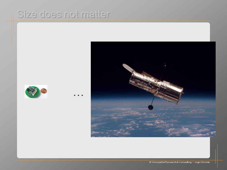 © Geospatial Research & Consulting Ingo Simonis …
