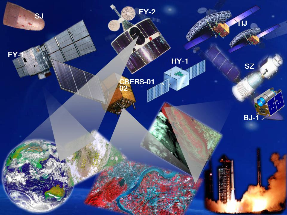 Center for Space Science and Applied Research, CAS SJ FY-1 FY-2 CBERS SZ HJ HY-1 BJ-1
