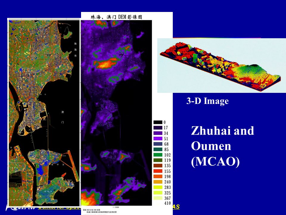 Center for Space Science and Applied Research, CAS 3-D Image Zhuhai and Oumen (MCAO)