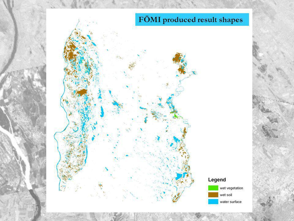 FÖMI produced result shapes