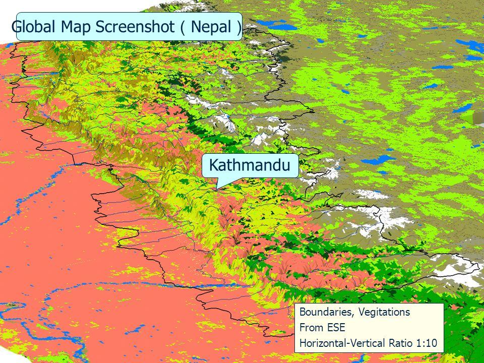 iscgm.org Global Map Data Raster Data Information at 1m step Elevation VegetationsLand Use Land Cover 20 categories9 categories 17 categories