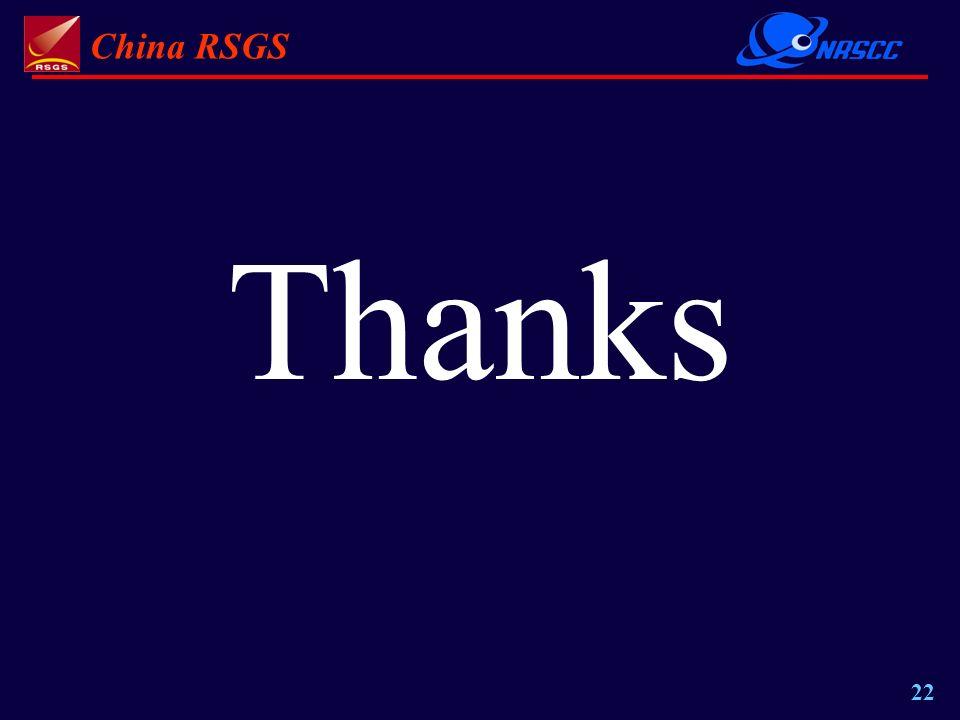 China RSGS 22 Thanks