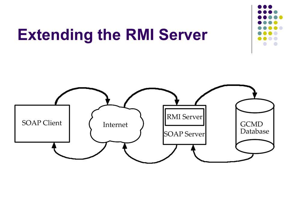 Extending the RMI Server