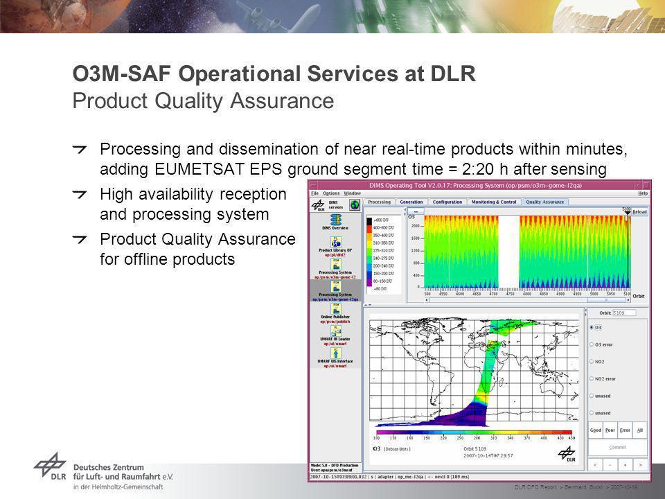 DLR/DFD Report > Bernhard Buckl > 2007-10-19 Folie 18 DLR HMA Prototype System Context