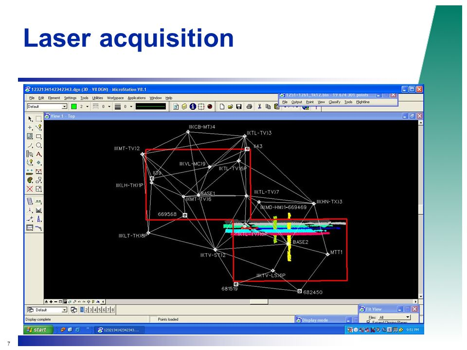 7 Laser acquisition