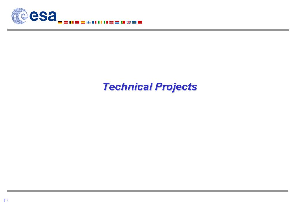 17 Technical Projects