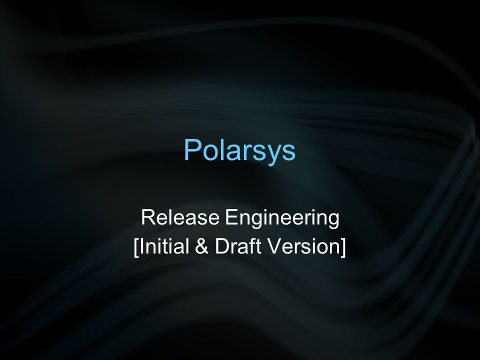 2012 s Polarsys Releases #1: Eclipse Polarsys platform #2: Modeling Polarsys platform –= Eclipse Polarsys platform + Modeling Eclipse components (e.g., MDT Papyrus, Acceleo, EGF) –Management of several bundles definitions, builds and publications –Synchronization with several Eclipse projects / release train