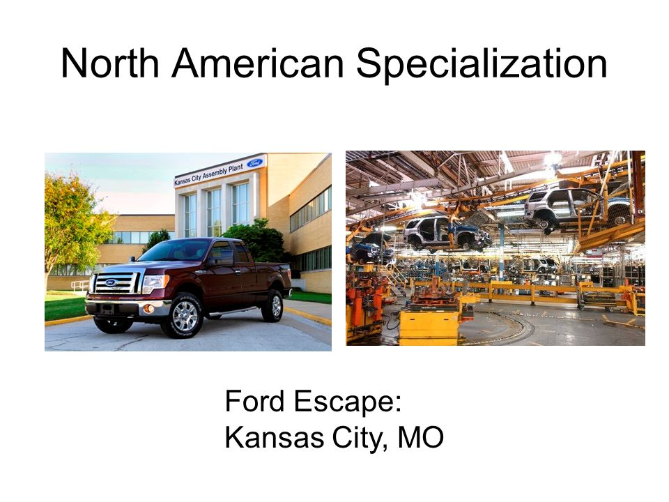 North American Specialization Ford Escape: Kansas City, MO