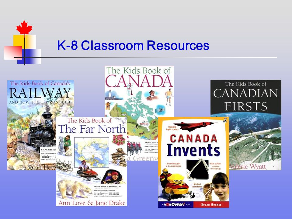 K-8 Classroom Resources