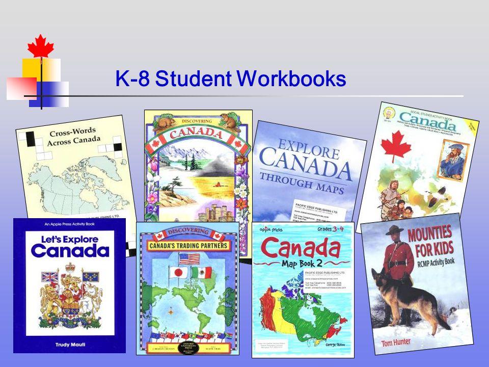 K-8 Student Workbooks