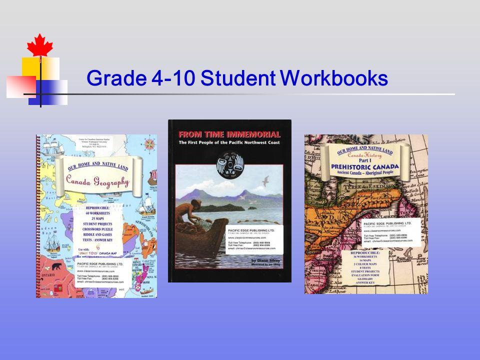 Grade 4-10 Student Workbooks