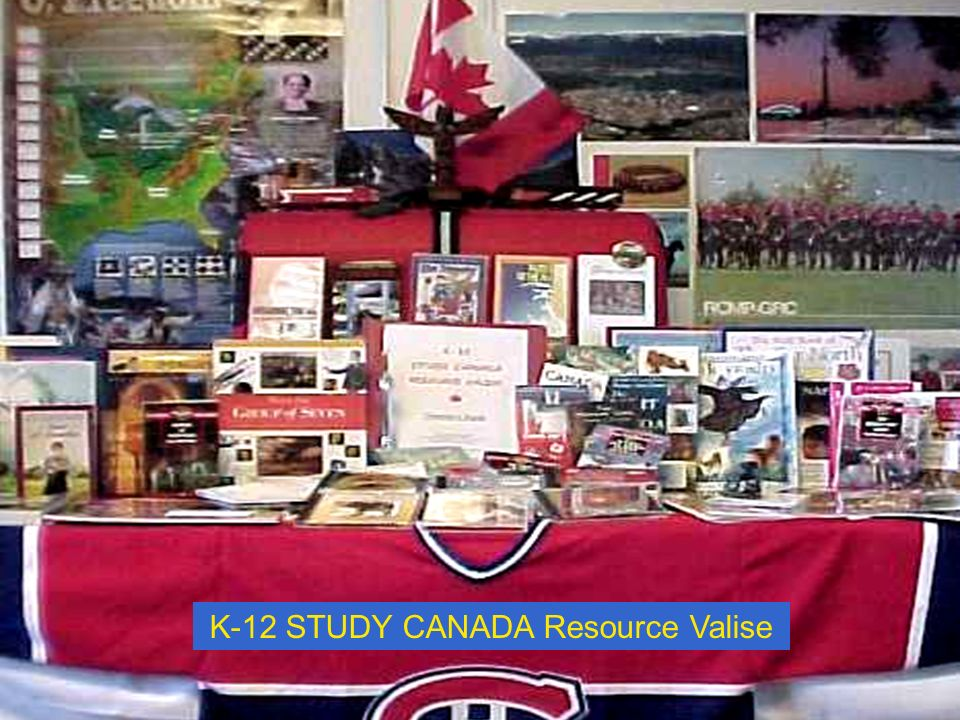 K-12 STUDY CANADA Resource Valise